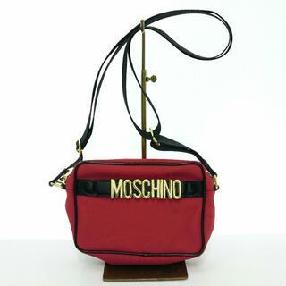 モスキーノ(MOSCHINO)のMOSCHINO ショルダーバッグ/ナイロン/RED/モスキーノ(ショルダーバッグ)