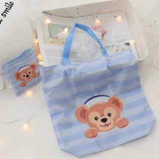 ダッフィー - 日本未発売 ダッフィー  エコバッグ お買い物袋 トートバッグ 収納袋付き