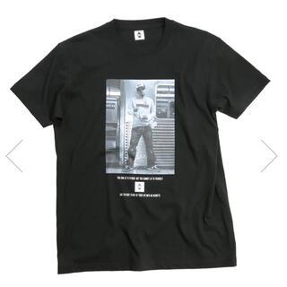 エクスパンション(EXPANSION)のD.L FLUSHING 2004 TEE (BLACK)BuddhaBrand(Tシャツ/カットソー(半袖/袖なし))