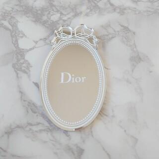 Dior - 【Dior ディオール】*新品未使用*ロゴ入り ミラー(巾着付き)  限定品