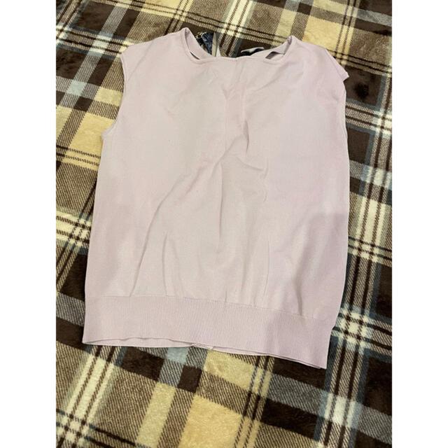 Mystrada(マイストラーダ)のmystrada ニット スカーフ レディースのトップス(カットソー(半袖/袖なし))の商品写真