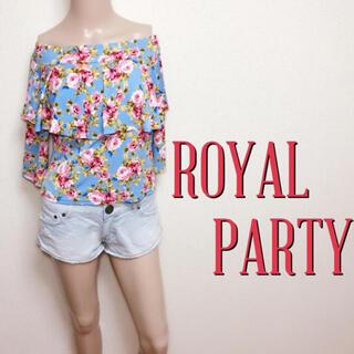 ROYAL PARTY - もて服♪ロイヤルパーティー ストレッチ オフショルトップス♡ノエラ スナイデル