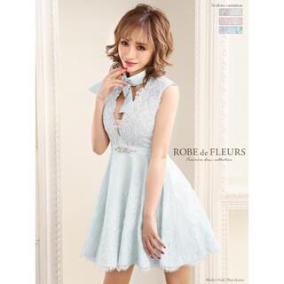 ローブ(ROBE)のROBE de FLEURS ローブドフルール ドレス(ミニドレス)