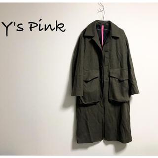 Yohji Yamamoto - Y's Pink TAKESHI KOSAKA ウールコート ヨウジヤマモト