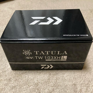 ダイワ(DAIWA)の新品未使用 20タトゥーラSVTW  103XH左(リール)