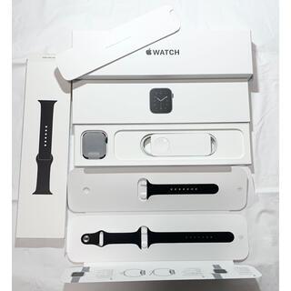 アップルウォッチ(Apple Watch)の【AppleCare+】極美品 Apple Watch SE GPS 44mm(腕時計(デジタル))