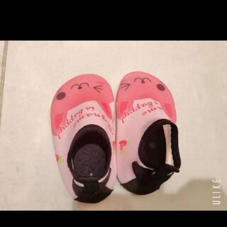 12〜13cm.うさぎ/ペタンコベビー靴(フラットシューズ)