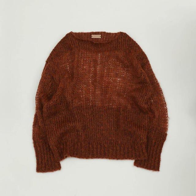 TODAYFUL(トゥデイフル)のtodayful Mohair Lowgauge Knit レアカラーAgawd レディースのトップス(ニット/セーター)の商品写真