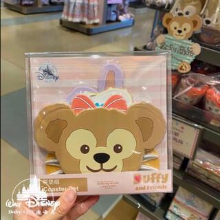 ダッフィー(ダッフィー)の上海ディズニーランド ダッフィーフレンズ コースター 5枚セット 数量限定(キャラクターグッズ)