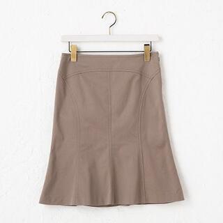 UNTITLED - アンタイトル スカート グレージュ 2 M