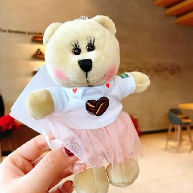 Starbucks Coffee(スターバックスコーヒー)の中国🇨🇳バレンタインガール★ご確認用 レディースのファッション小物(キーホルダー)の商品写真