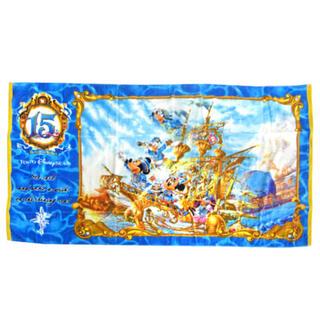 ディズニー(Disney)のディズニー 15周年 ワイドバスタオル(タオル/バス用品)