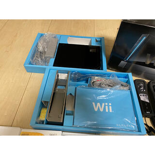 Wii - Wii BLACK ソフトセット
