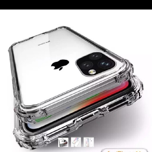 最先端新作 iPhone 11pro Airクッション搭載ケース スマホ/家電/カメラのスマホアクセサリー(iPhoneケース)の商品写真