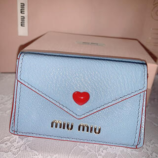 miumiu - miumiu マドラスレザー財布 ラブレター