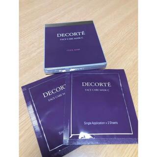 COSME DECORTE - コスメデコルテ フェイスケアマスクC
