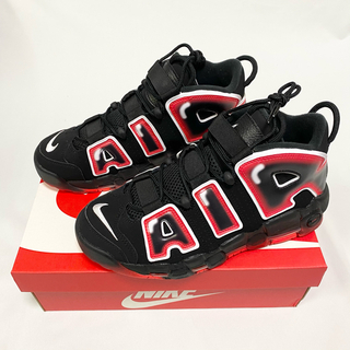ナイキ(NIKE)のNIKE AIR MORE UPTEMPO '96 LASER CRIMSON(スニーカー)
