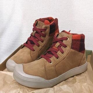 キーン(KEEN)の【ふう様専用】KEEN エレナ ミッド 新品 23.5cm ウィンターブーツ(ブーツ)