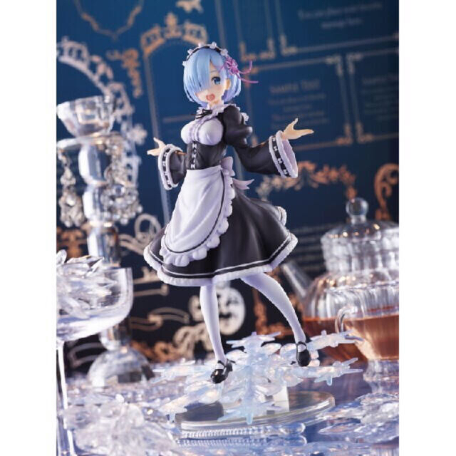 (最安値)リゼロ レム フィギュア〜Winter Maid image ver. エンタメ/ホビーのフィギュア(アニメ/ゲーム)の商品写真