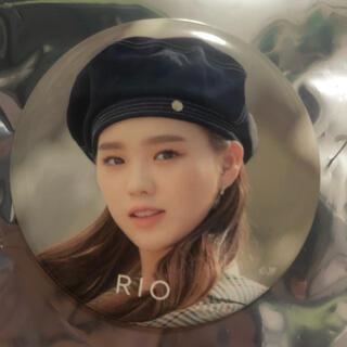 NiziU リオ 缶バッジ(K-POP/アジア)