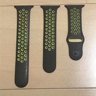 アップルウォッチ(Apple Watch)の純正品Apple Watch NIKE ナイキ 42mm スポーツバンド(ラバーベルト)
