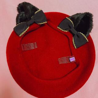 アンジェリックプリティー(Angelic Pretty)の東京限定ベレー帽(ハンチング/ベレー帽)