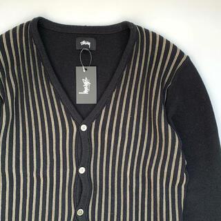 ステューシー(STUSSY)のstussy 20aw stripe cardigan Mサイズ(カーディガン)