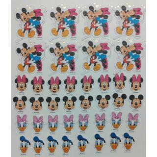 ディズニー(Disney)のミッキー ミニー ドナルドダック デイジー シール(シール)