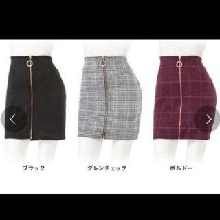 夢展望 - スカート グレンチェック【新品、未使用】