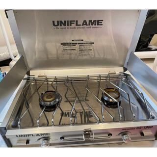 ユニフレーム(UNIFLAME)のユニフレーム ツインバーナーUS-1900 610305(ストーブ/コンロ)