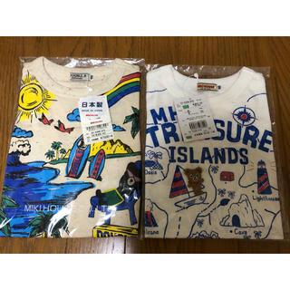 mikihouse - 【新品・未開封】ミキハウス ダブルビー リゾート、トレジャー Tシャツ(100)