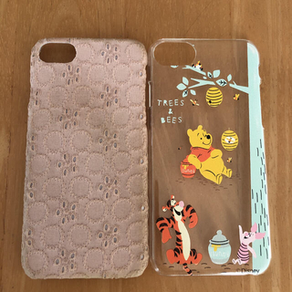 iPhone8 スマホケース 2点セット(iPhoneケース)