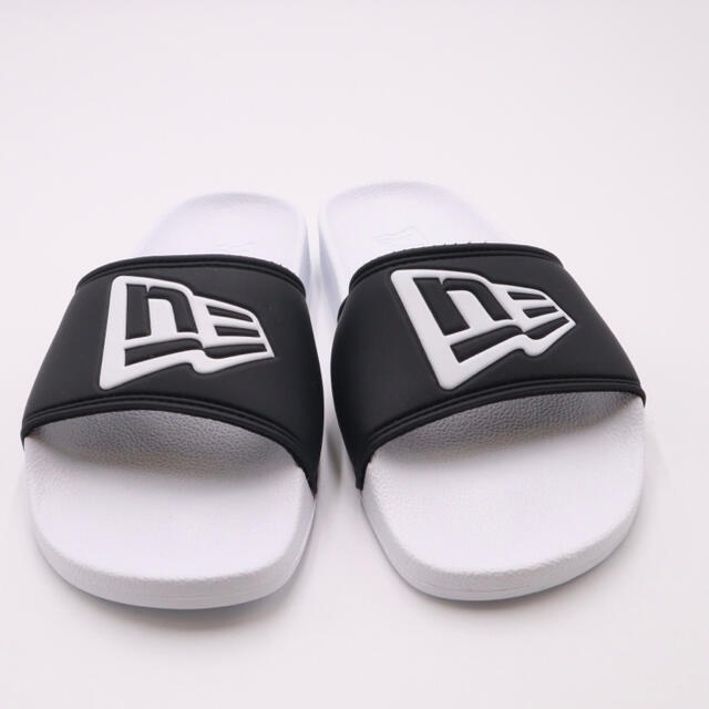 NEW ERA(ニューエラー)の新品 未使用 ニューエラ NEWERA シャワーサンダル  黒×白 メンズの靴/シューズ(サンダル)の商品写真