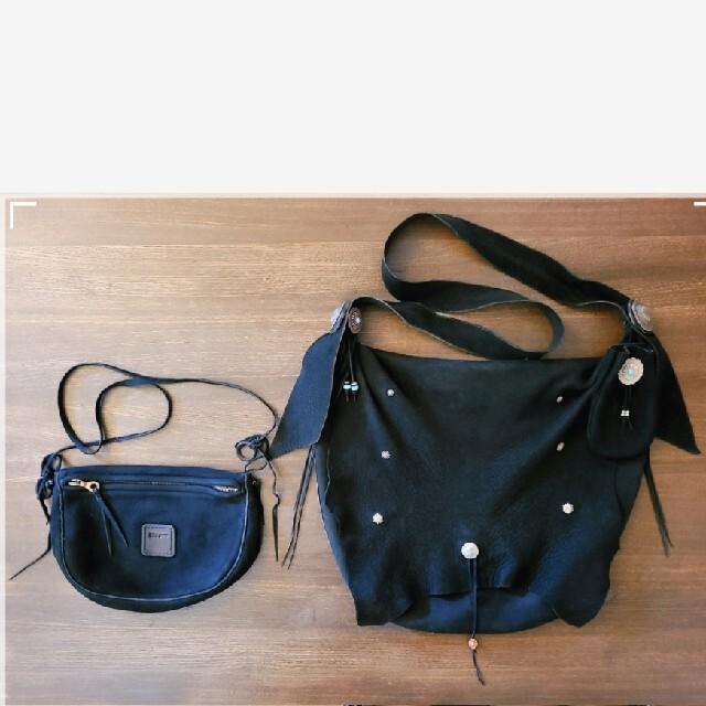 goro's(ゴローズ)のgoro's ゴローズ ディアスキンバッグ 【M】【現行】【黒】付属ポーチ付き メンズのバッグ(ショルダーバッグ)の商品写真