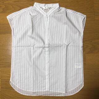 アオヤマ(青山)の☆美品☆洋服の青山 ストライプシャツ(シャツ/ブラウス(半袖/袖なし))