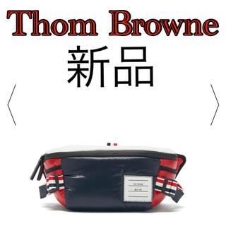 トムブラウン(THOM BROWNE)の【新品】Thom Browne トリコロール ボディバッグ(ボディーバッグ)