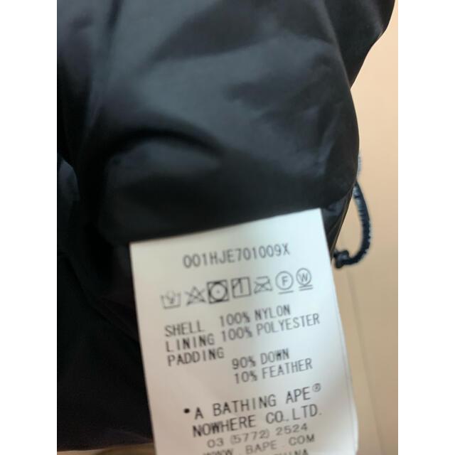 A BATHING APE(アベイシングエイプ)の超レア2XL! BAPEファーストカモスノボダウンジャケット黄色 メンズのジャケット/アウター(ダウンジャケット)の商品写真