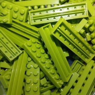 カワダ(Kawada)のナノブロック 緑 バラ売りもできます(積み木/ブロック)