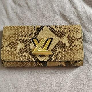 LOUIS VUITTON - ルイヴィトン パイソン財布