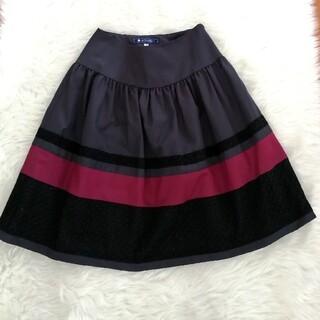 M'S GRACY - エムズグレイシー スカート 38 M 9号 膝丈スカート フレアスカート 日本製