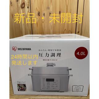 アイリスオーヤマ - アイリスオーヤマ 電気圧力鍋 4.0L