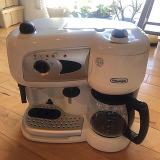 デロンギ(DeLonghi)の【DeLonghi】デロンギ コンビ・コーヒーメーカー BCO261N-W(コーヒーメーカー)