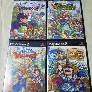 プレイステーション2(PlayStation2)のPS2    ドラクエシリーズ4本セット(家庭用ゲームソフト)