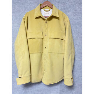 FEAR OF GOD - Fear of god ULTRASUEDE JACKET M yellow