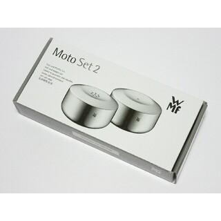 ヴェーエムエフ(WMF)のWMF(ヴェーエムエフ)Moto Set 2/ソルト&ペッパー/調味料入れ☆(テーブル用品)