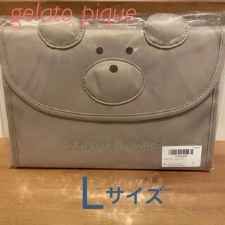 ジェラートピケ(gelato pique)のジェラートピケ ベア モチーフ 母子手帳 L(母子手帳ケース)