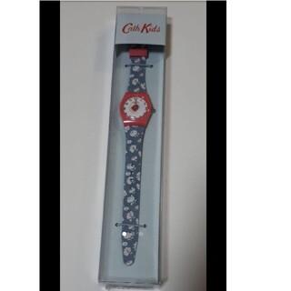 キャスキッドソン(Cath Kidston)のキャスキッドソン キッズウォッチ ウォッシュディッツィー てんとう虫 時計(腕時計)