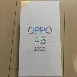 オッポ(OPPO)のOPPO A5 2020 新品未開封 ブルー SIMフリー(スマートフォン本体)
