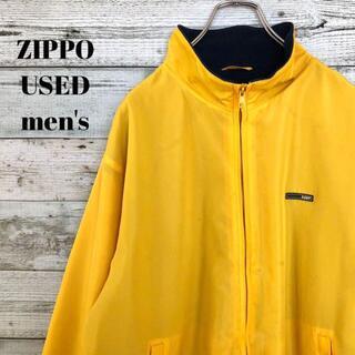 ジッポー(ZIPPO)のZIPPO ジッポー メンズ ナイロンジャケット ワンポイント L(ナイロンジャケット)