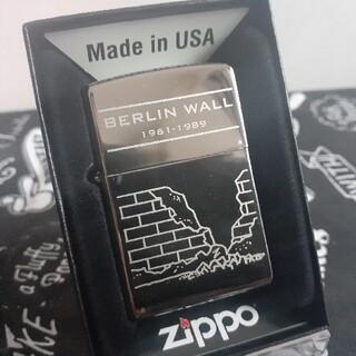 ジッポー(ZIPPO)のzippoジッポ未使用新品ベルリンの壁(タバコグッズ)